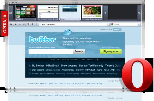 opera 10 browser